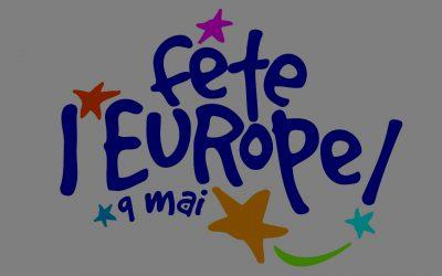 Après le 1er mai, l'Ascencion ou la fin de la Seconde Guerre mondiale, nous fêtons aujourd'hui l'Europe.