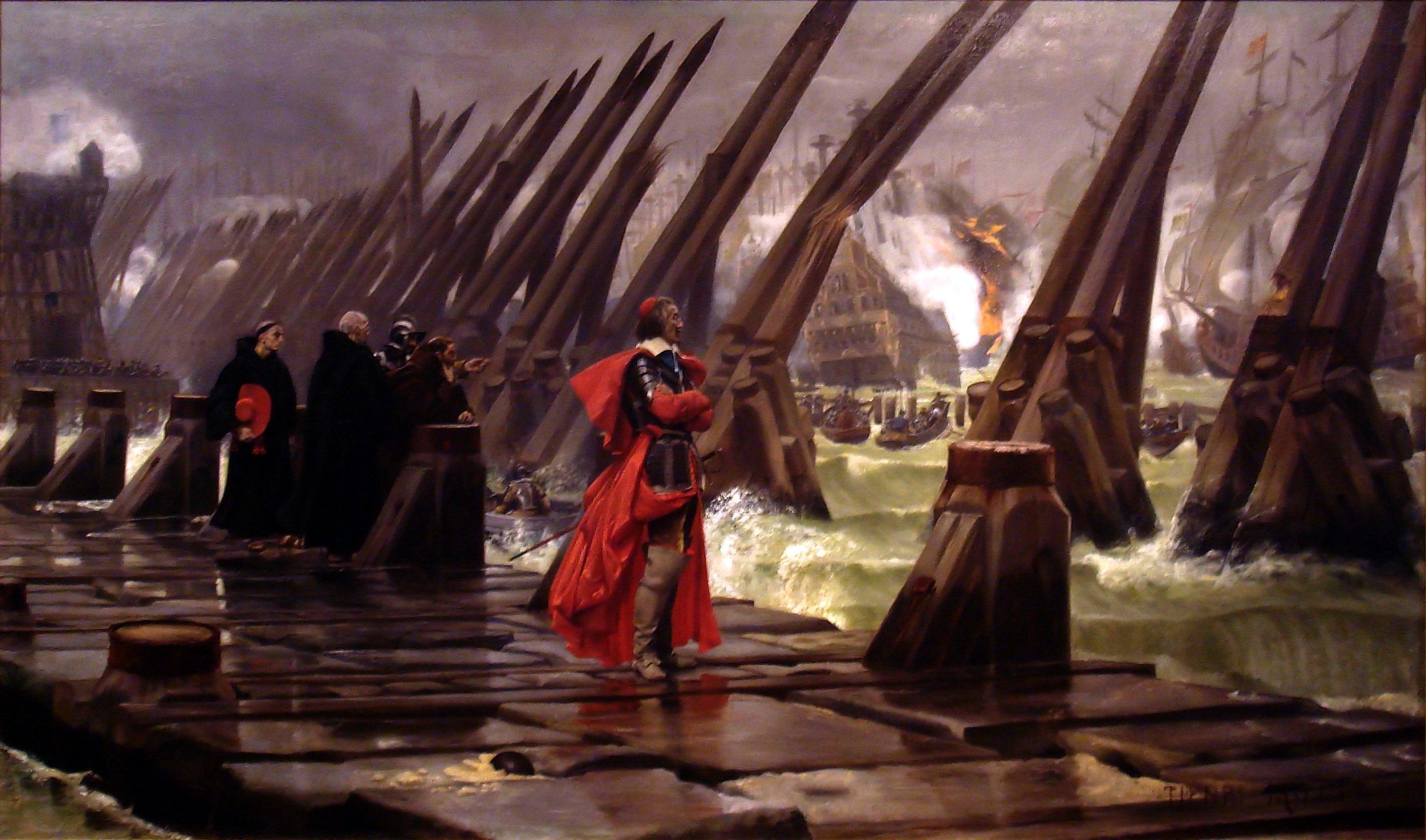 Siege de La Rochelle Marine le pen