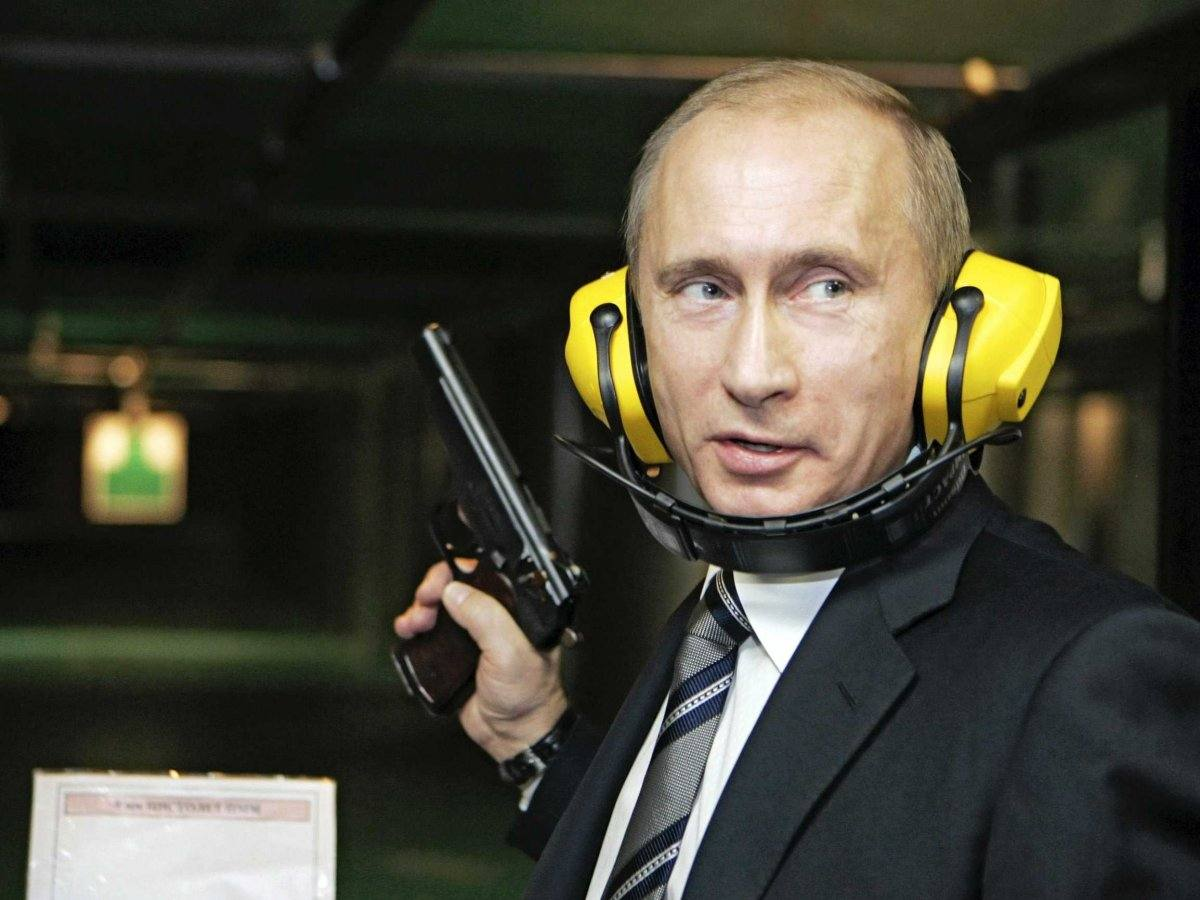 Vladimir poutine gun